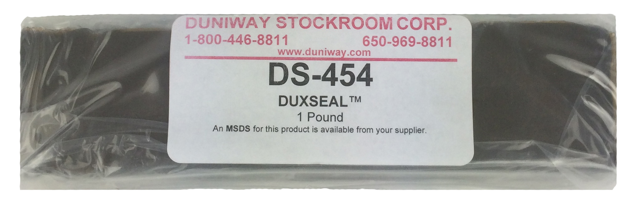 Duxseal Temporary Sealer 1 Pound Easily Removed